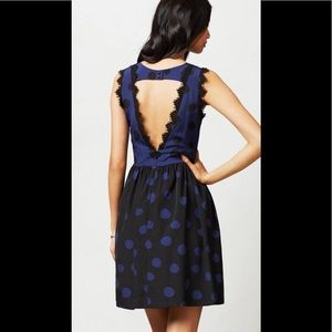 Anthropologie Corey Lynn Calter  Polka Dot Dress